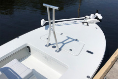 Removable Grab bar/ Lean bar mounted on Casting Deck