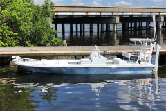 Two-tone water camo hull color finish
