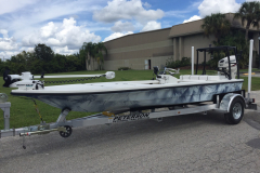 Two Tone Water Camo hull color