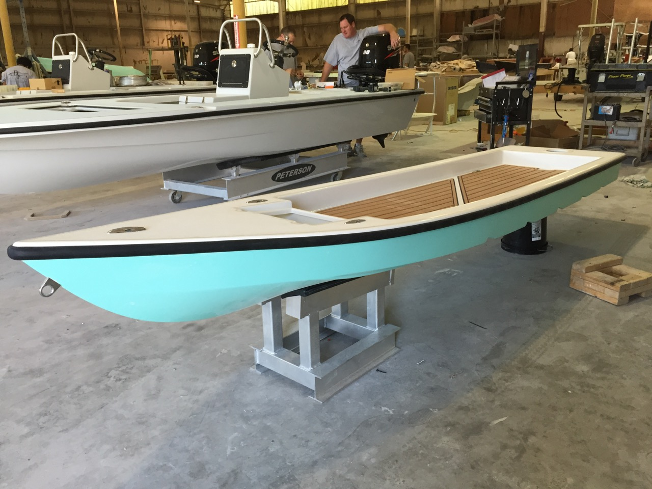 Darrin D  | Owners | Beavertail Skiffs