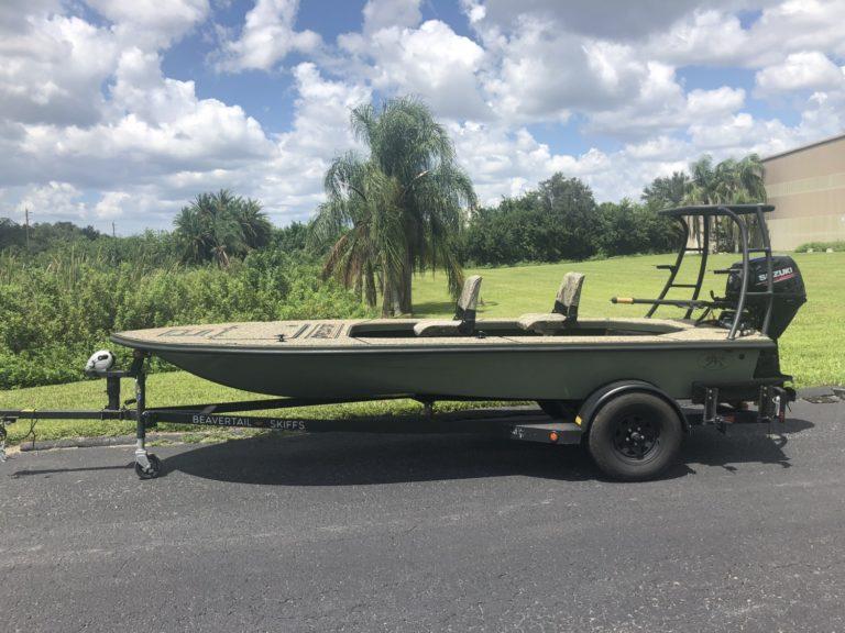 Skiffs For Sale >> Available Skiff Flats Boat Inventory Beavertail Skiffs